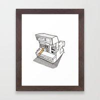 Polaroid Spirit 600 CL Framed Art Print