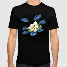 Magnolia Mens Fitted Tee SMALL Black