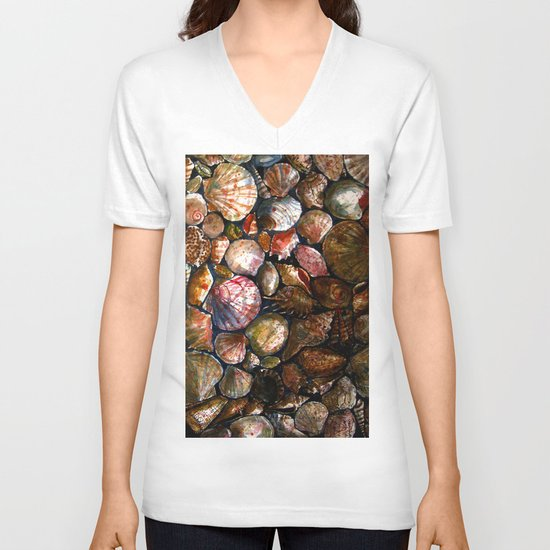 Shell 1 V-neck T-shirt