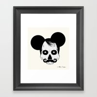 Mickey Mouse Framed Art Print