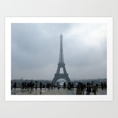 Eiffel Tower. Art Print