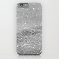 Glitter Silver iPhone 6 Slim Case