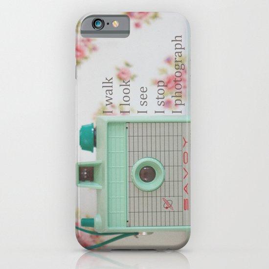 Photographer iPhone & iPod Case