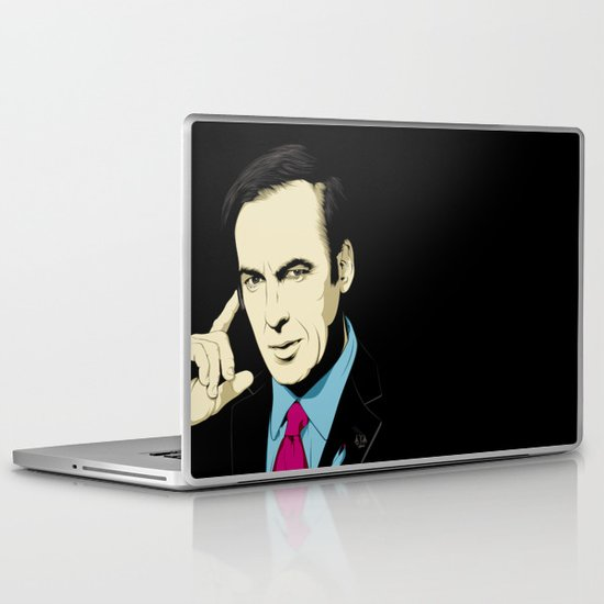 BETTER CALL ME! Laptop & iPad Skin