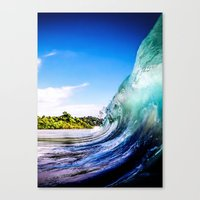 Wave Wall Canvas Print