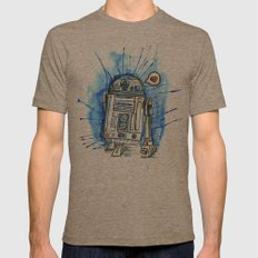 R2d2 Mens Fitted Tee Tri-Coffee SMALL