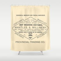 Economical Mourning And … Shower Curtain