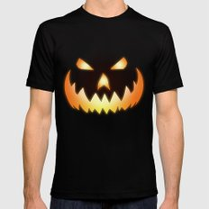 Halloween Mens Fitted Tee Black SMALL
