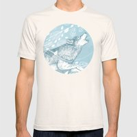 Wild Wind Mens Fitted Tee Natural SMALL