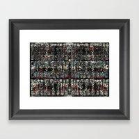 Graf-Grid 1 Framed Art Print