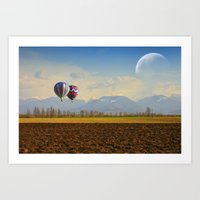 Surreal September Art Print