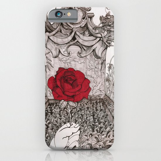 rose and grave iPhone & iPod Case