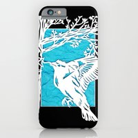 iPhone & iPod Case featuring Goldfinch Mother by Katy Betz