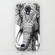 Ornate Elephant Galaxy S4 Slim Case
