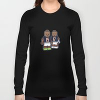 Bears Bricked: Brandon Marshall & Alshon Jeffery Long Sleeve T-shirt