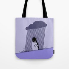 Heavy Rain Tote Bag
