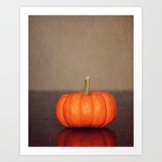 One Pumpkin Art Print
