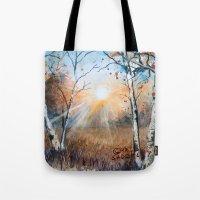 untitled landscape Tote Bag