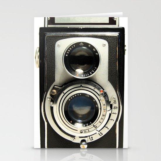 Vintage Camera Stationery Card