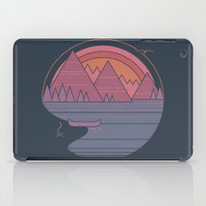 The Mountains are Calling iPad Case