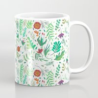 flowers watercolor Mug