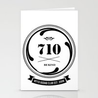 The 710  Stationery Cards