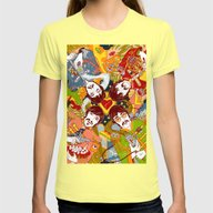 Sgt. Pepper's Lonely Hea… Womens Fitted Tee Lemon SMALL