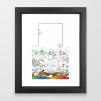 you're COLOR - Page 10 Framed Art Print