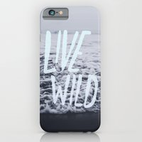 iPhone Cases featuring Live Wild: Ocean by Leah Flores