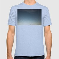 Scratched Sky Mens Fitted Tee Athletic Blue SMALL