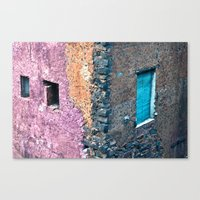 Sicilian Facade In The P… Canvas Print