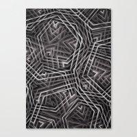 Di-simetrías 3 Canvas Print