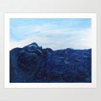 Sea Swell. Art Print