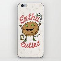 Enthu Cutlet iPhone & iPod Skin