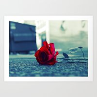 Tacoma rose Art Print