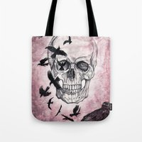 The Crows Of Death Tote Bag