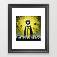 Utkin - Steel God Creati… Framed Art Print