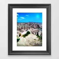 Badlands National Park, … Framed Art Print