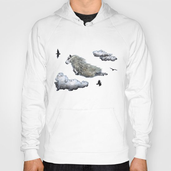 Flying sheep Hoody