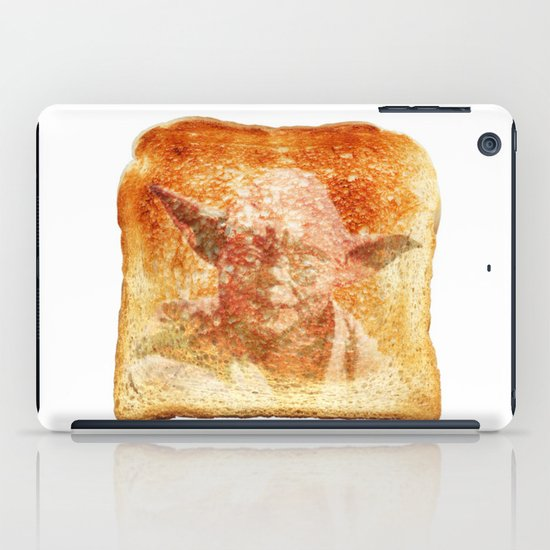 yoda toast iPad Case