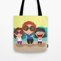 Walking With Mom Tote Bag