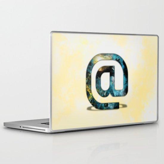 At Sign {@} Series - Silom Typeface Laptop & iPad Skin