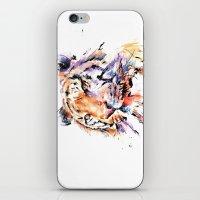 Panthera Tiger II iPhone & iPod Skin