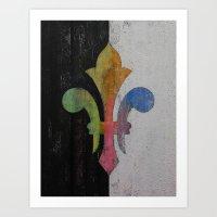 Fleur De Lis Art Print