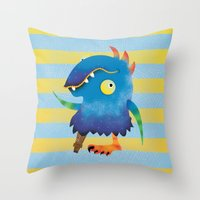 Peg Leg Parry Throw Pillow