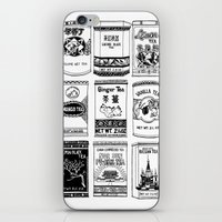 chinese teabox collection iPhone & iPod Skin