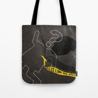 Crime. Question Series Tote Bag