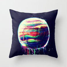 Deliquesce Throw Pillow