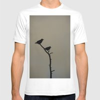 Alaskan Ravens Mens Fitted Tee White SMALL