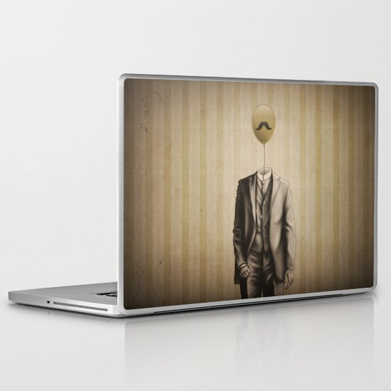 Mr. Whiskers Laptop & iPad Skin